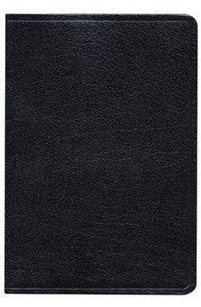 KJV Large Print Ultrathin Reference Bible, Black Bonded Leather 9781433603747