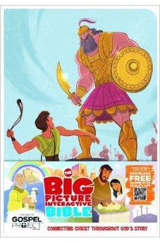 The Big Picture Interactive Bible for Kids, David and Goliath Edition LeatherTouch: Connecting Christ Throughout God's Story 9781433605031