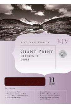 KJV Giant Print Reference Bible, Saddle Brown LeatherTouch Indexed 9781433605666