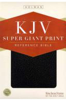 KJV Super Giant Print Bible: Black Imitation Leather 9781433606618