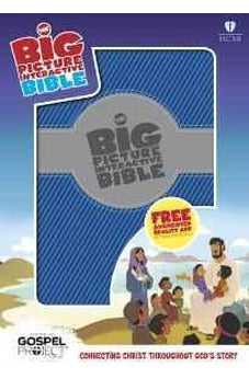 HCSB Big Picture Interactive Bible, Blue/Silver LeatherTouch (The Gospel Project) 9781433613623