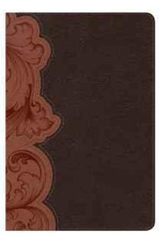 KJV Study Bible Personal Size, Dark Umber/Sienna LeatherTouch  Indexed 9781433613920