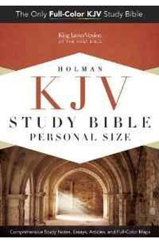 KJV Study Bible Personal Size, Hardcover Indexed 9781433613937
