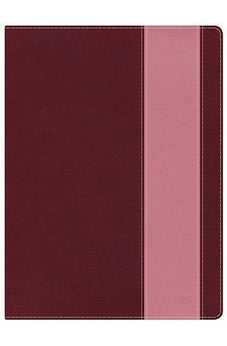 Holman Study Bible: NKJV Edition, Crimson/Coral LeatherTouch 9781433614330