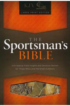 The Sportsman's Bible: KJV Large Print Edition, Camo LeatherTouch 9781433615399