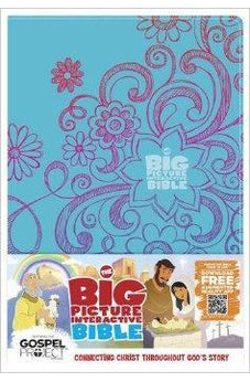 The Big Picture Interactive Bible for Kids, Doodles LeatherTouch: Connecting Christ Throughout God's Story 9781433616686