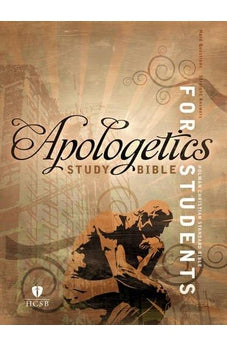 Apologetics Study Bible for Students, Hardcover Indexed 9781433616976