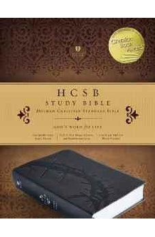 HCSB Study Bible, Charcoal LeatherTouch 9781433617096