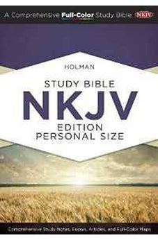 Holman Study Bible: NKJV Edition Personal Size Hardcover Indexed 9781433619274