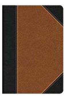 HCSB Study Bible: Personal Size Edition, Black/Tan LeatherTouch Indexed 9781433619618
