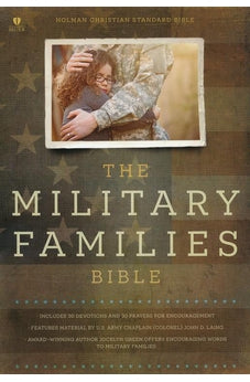 Military Families Bible Navy/Crimson LeatherTouch 9781433619670