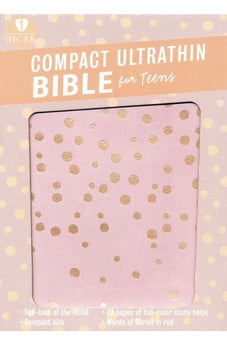 HCSB Compact UltraThin Bible for Teens, Rose Gold 9781433620317