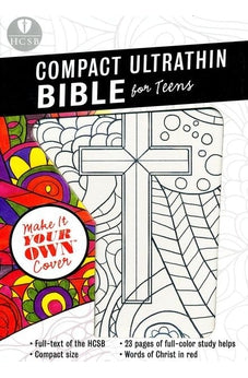 HCSB Compact UltraThin Bible for Teens, with Make-It-Your-Own cover 9781433620331