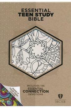 HCSB Essential Teen Study Bible, Personal Size with Make-It-Your-Own cover 9781433620362