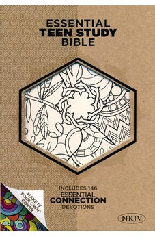 NKJV Essential Teen Study Bible, Personal Size with Make-It-Your-Own cover 9781433620454