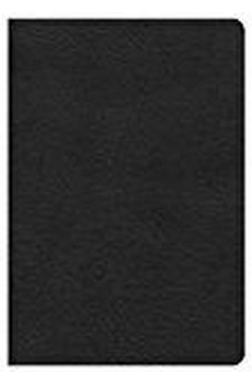 KJV Compact Ultrathin Bible, Black LeatherTouch 9781433620478