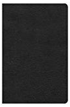 NKJV Ultrathin Reference Bible, Black LeatherTouch, Indexed 9781433620737