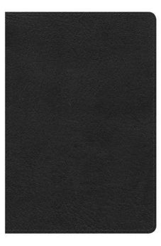 HCSB Compact Ultrathin Bible, Black LeatherTouch 9781433620799