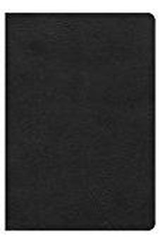 HCSB Giant Print Reference Bible, Black LeatherTouch 9781433620812