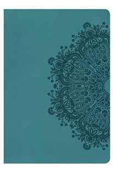 HCSB Giant Print Reference Bible, Teal LeatherTouch 9781433620836