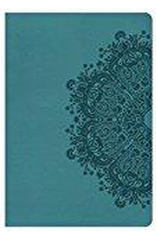 HCSB Giant Print Reference Bible, Teal LeatherTouch, Indexed 9781433620843