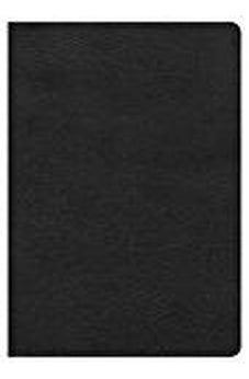 HCSB Super Giant Print Reference Bible, Black LeatherTouch 9781433620973