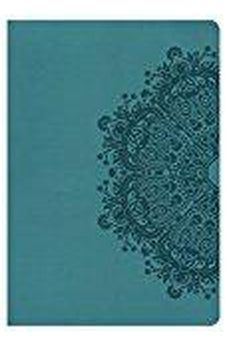 HCSB Super Giant Print Reference Bible, Teal LeatherTouch, Indexed 9781433621000