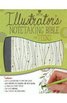 HCSB Illustrator's Notetaking Bible for Teens 9781433643194