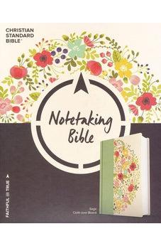 CSB Notetaking Bible, Sage Cloth Over Board 9781433644146