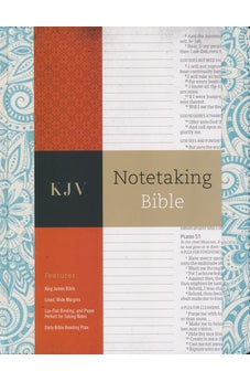 KJV Notetaking Bible, Blue Floral 9781433645594