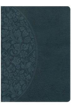 Holman Study Bible: NKJV Large Print Edition Dark Teal LeatherTouch, Indexed 9781433646164