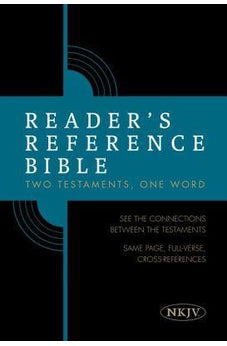 Reader's Reference Bible: NKJV Edition, Hardcover 9781433646386