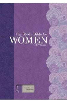 The Study Bible for Women: NKJV Edition, Purple/Gray Linen 9781433646447
