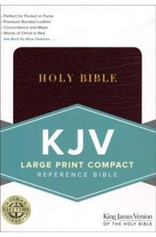 KJV Large Print Compact Burgundy Bonded Leather 9781433647222