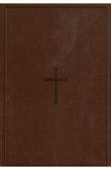 KJV Large Print Personal Reference Bible Brown Leathertouch 9781433647253