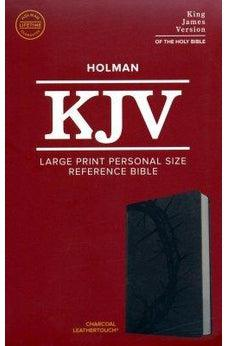KJV Large Print Personal Reference Bible Charcoal Leathertouch 9781433647260