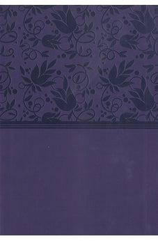 KJV Large Print Personal Reference Bible Purple Leathertouch 9781433647284