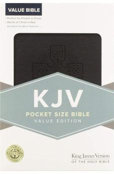 KJV Pocket Size Bible Value Edition Black Leathertouch 9781433647291