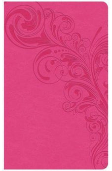 CSB Ultrathin Reference Bible, Pink LeatherTouch, Indexed 9781433647529