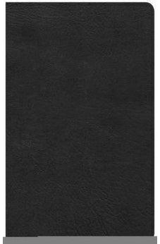 CSB Ultrathin Reference Bible, Black LeatherTouch, Indexed 9781433647581