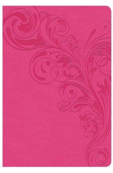 CSB Giant Print Reference Bible, Pink LeatherTouch, Indexed 9781433647925
