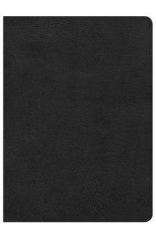 CSB Study Bible, Premium Black Leather, Indexed 9781433648069