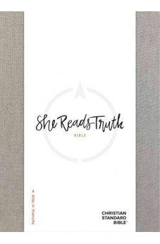 Image of CSB She Reads Truth Bible, Gray Linen 9781433648199