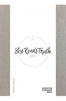 CSB She Reads Truth Bible, Gray Linen, Indexed 9781433648205