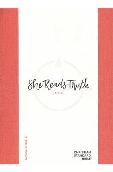 CSB She Reads Truth Bible, Poppy Linen, Hardcover 9781433648212