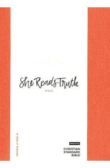 CSB She Reads Truth Bible, Poppy Linen, Indexed 9781433648229
