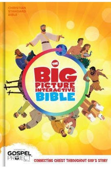 The CSB Big Picture Interactive Bible, Hardcover (The Big Picture Interactive / The Gospel Project) 9781433648281