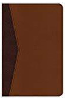 CSB Compact Ultrathin Bible for Teens, Walnut LeatherTouch 9781433649042