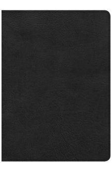 CSB Study Bible, Black Deluxe LeatherTouch, Indexed 9781433649530