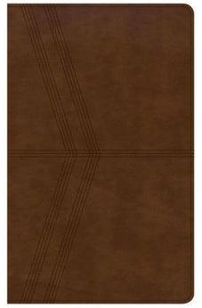 NKJV Ultrathin Reference Bible, Brown Deluxe LeatherTouch 9781433649639